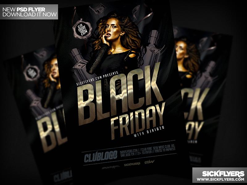 Black Friday Flyer PSD by Industrykidz