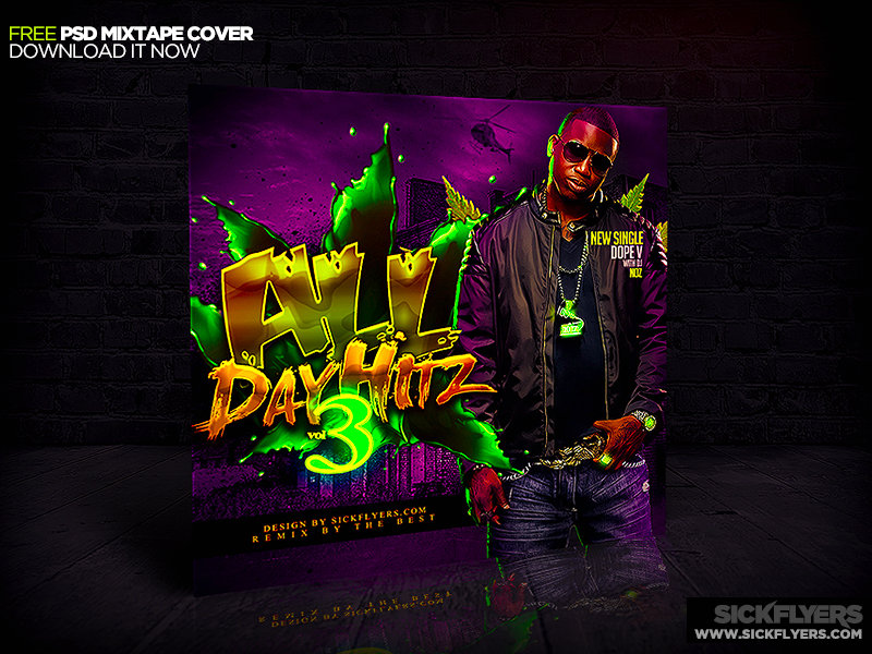 free mixtape cover psd by industrykidz on deviantart