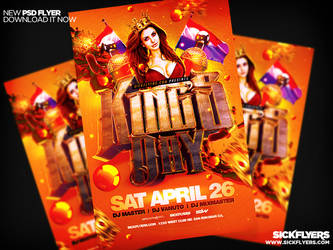 King's Day Flyer by Industrykidz