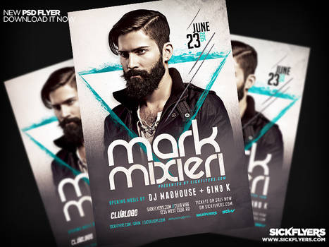 DJ Flyer Template PSD PRO SERIES V2