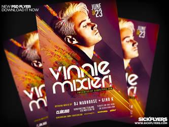 Artist DJ Flyer Template PSD PRO SERIES V3 by Industrykidz