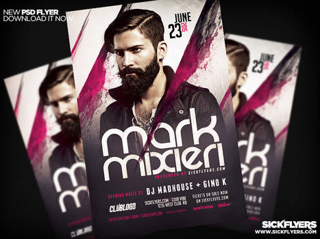 DJ Flyer Template PSD PRO SERIES V4