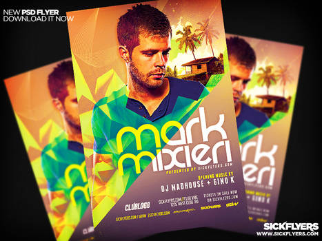 DJ Flyer Template PSD PRO SERIES V5