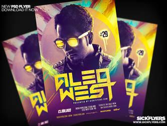 EDM DJ Flyer PSD by Industrykidz
