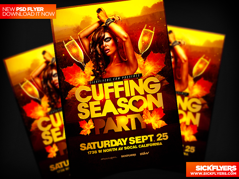 Cuffing Season Flyer by Industrykidz