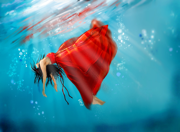 Drowning by vinigal123