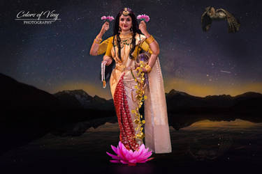 Shri Mahalakshmi by vinigal123