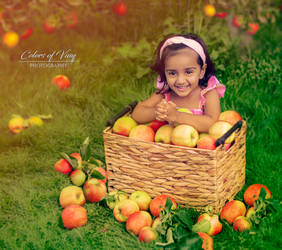 The apple princess by vinigal123