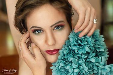 Blue eyed beauty by vinigal123
