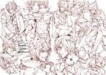 [CM] ClausDeimos Sketchpage [YAOI]