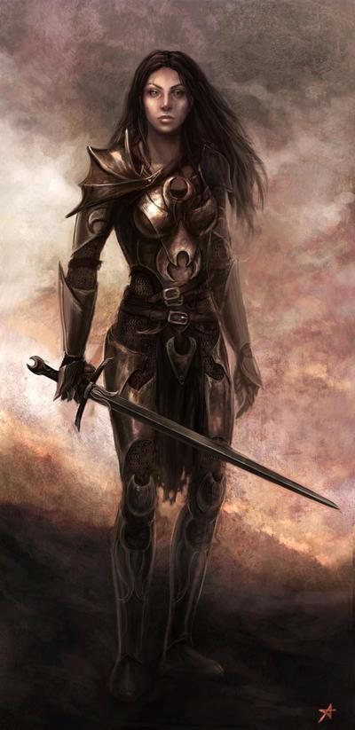 Warrior by Aerenwyn