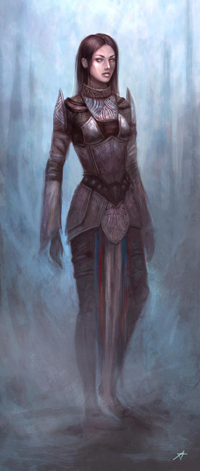Armor concept by Aerenwyn