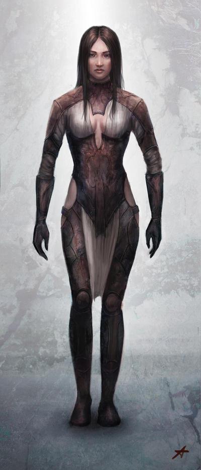 Fantasy armor design by Aerenwyn