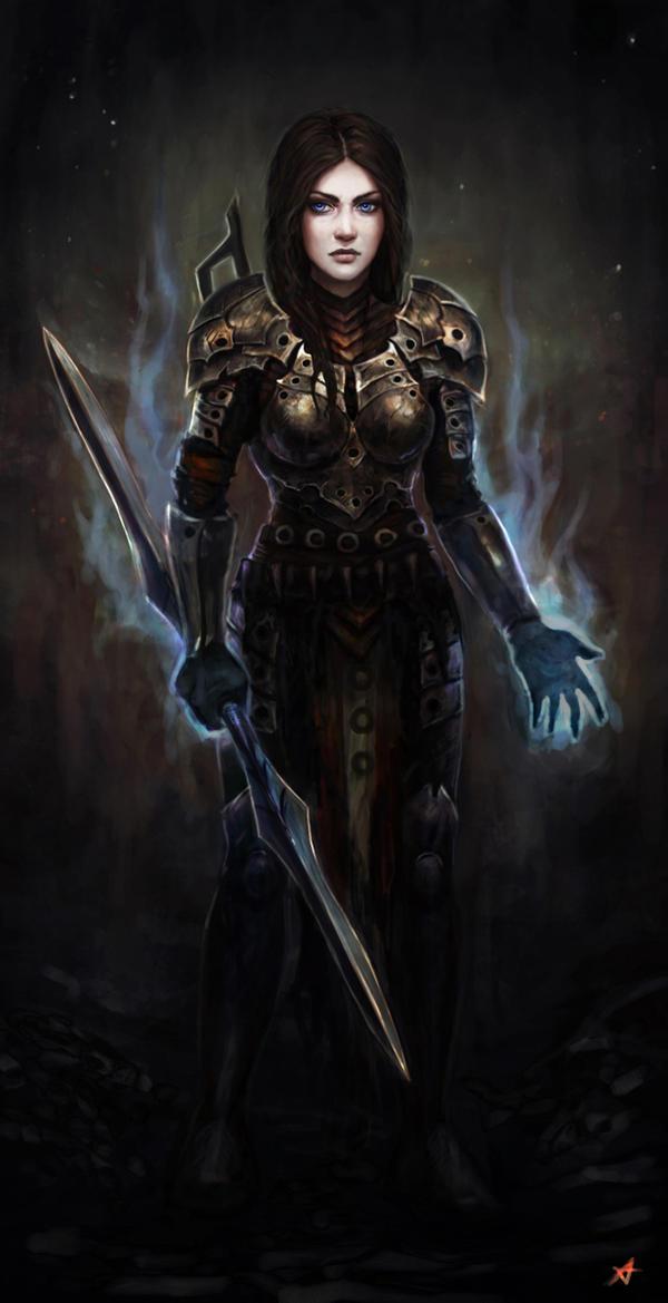 Commission -  Lyssandra by Aerenwyn