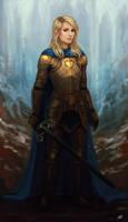 Commission - Arya by Aerenwyn