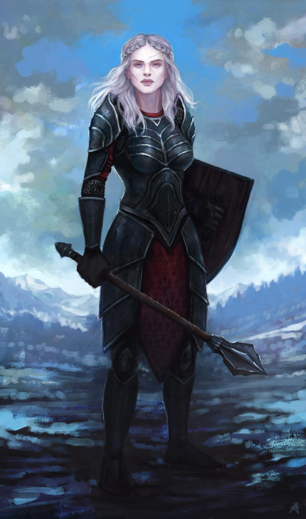 Commission - Elise by Aerenwyn