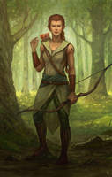 Commission - Jana by Aerenwyn
