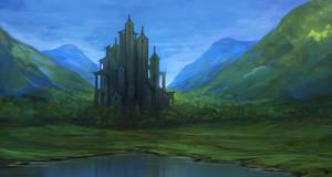 Castle by Aerenwyn