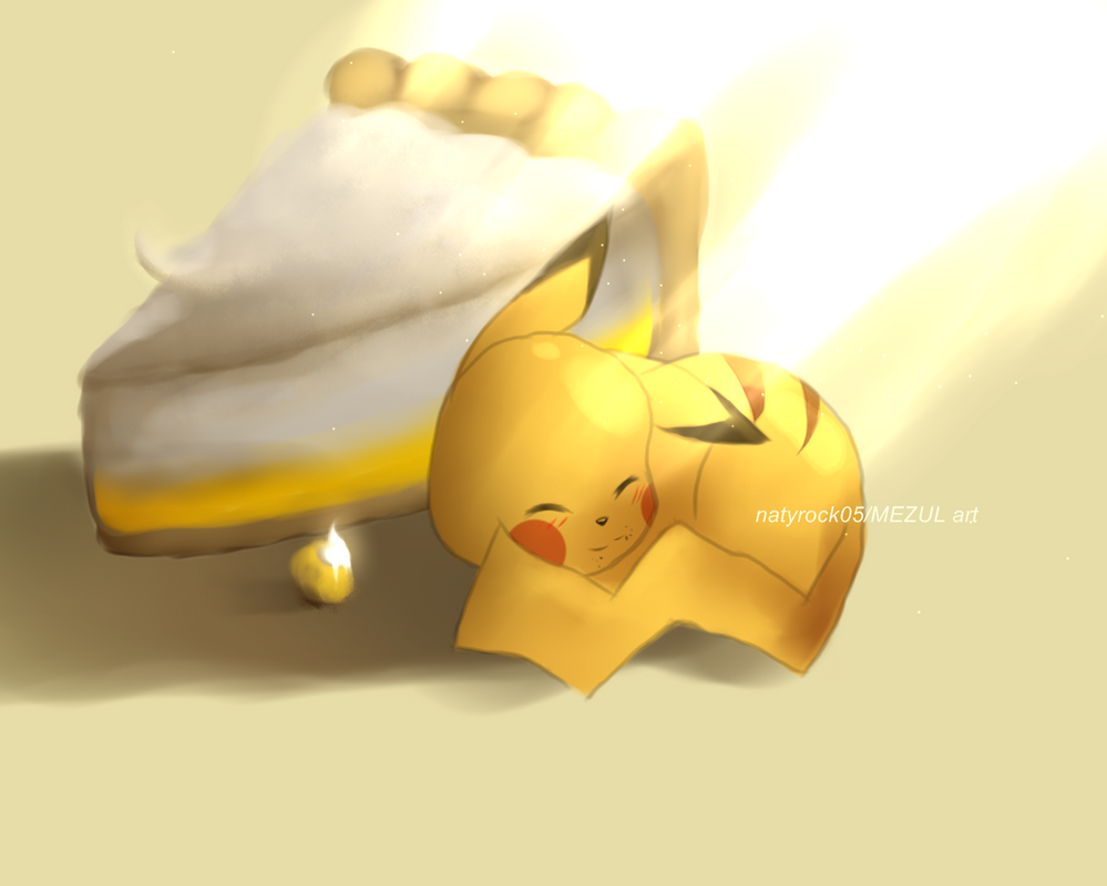 Pikachu Lemon Pie by Zombiezul