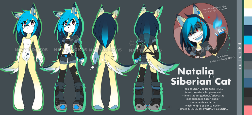 [REF] Natalia the Siberian Cat by Zombiezul