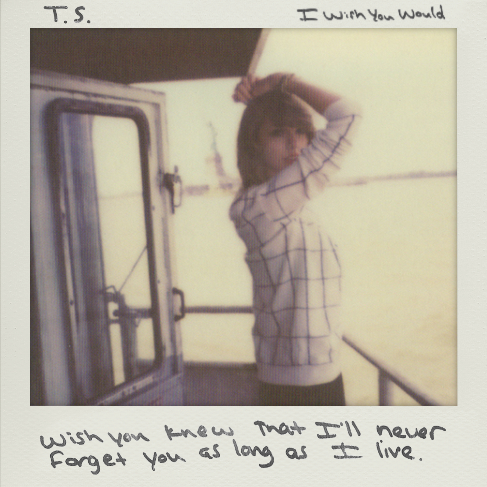 I Wish You Would - Taylor Swift (Single Cover Art) by JustinSwift13 on DeviantArt