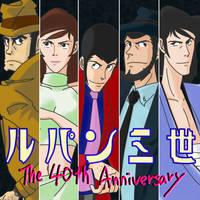 the 40th anniversary by yamadacaje