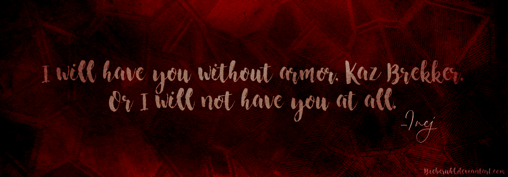 Six of Crows by Leigh Bardugo - Quote by Bieberuhl