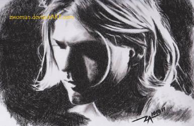 Kurt Cobain by zwoman