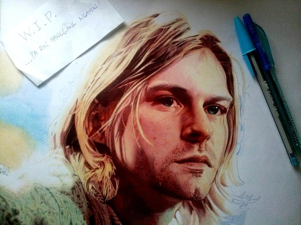 Kurt (in biro) (WIP 3) by zwoman