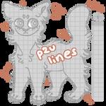 p2u :: cat lineart