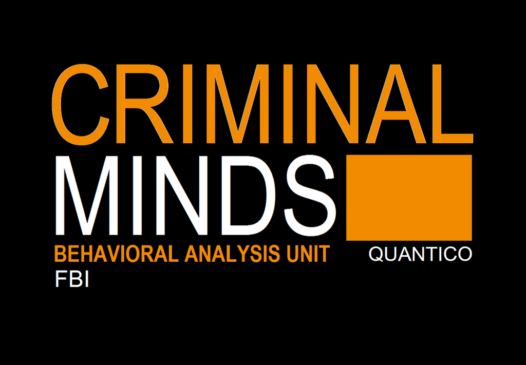 criminal minds logo desktop background by thereference96