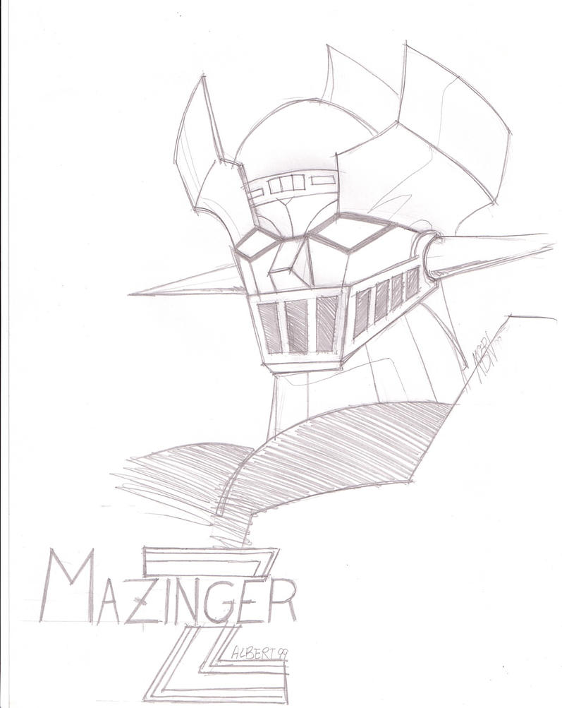 Mazinger z coloring pages - Mazinger Z Coloring Pages Mazinger Z By Ruijicross