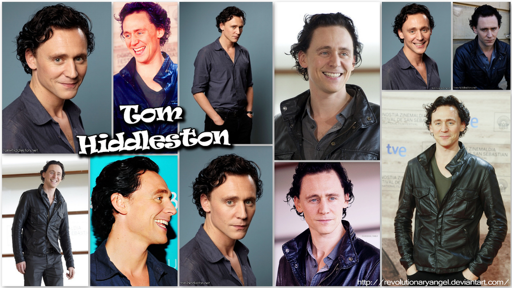 Tom Hiddleston Wallpaper by RevolutionaryAngel