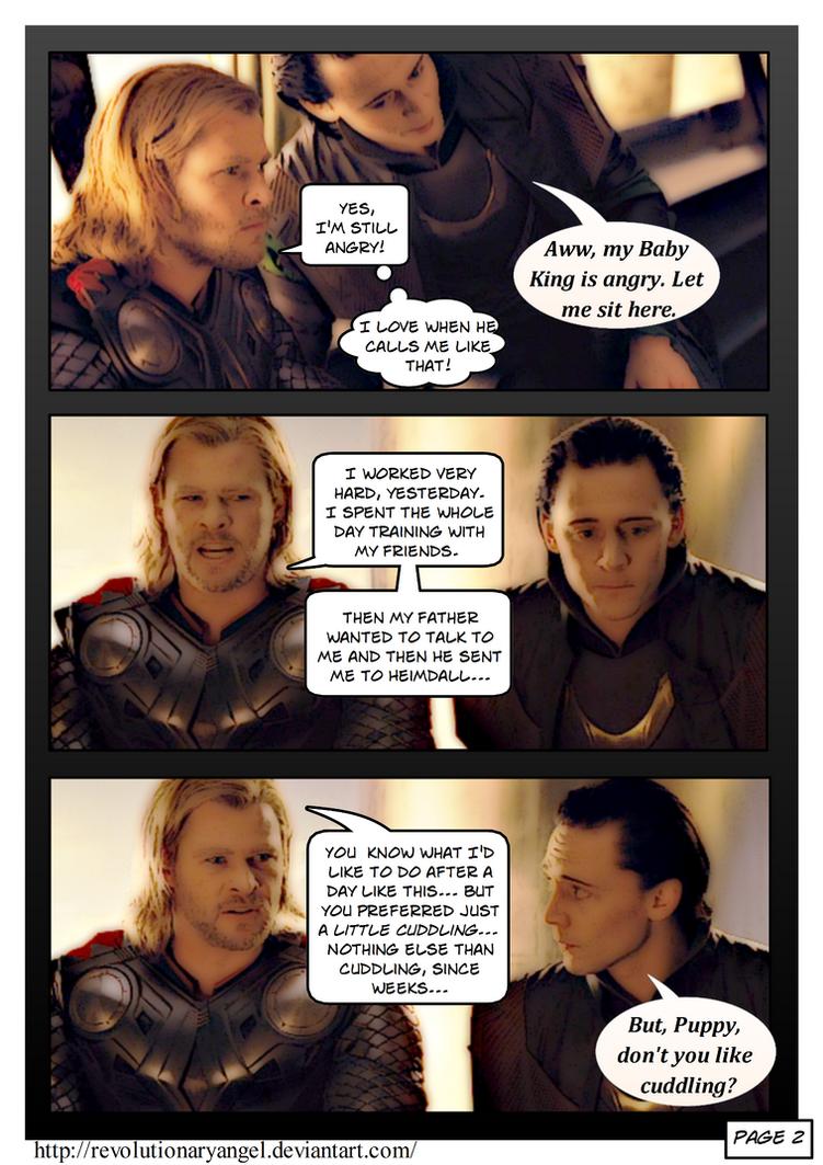 Thorki Comic Tumblr   www.imgkid.com - The Image Kid Has It!
