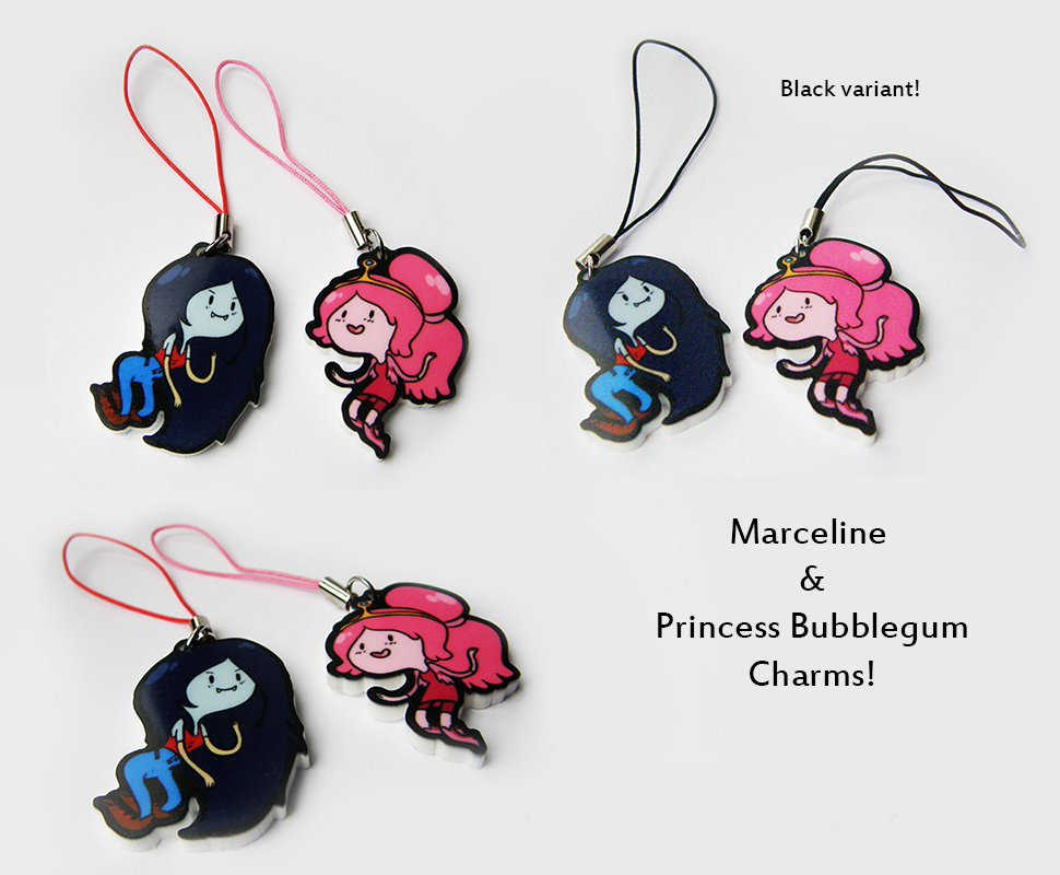 Marceline and PB charms for sale +new price+ by Mayocat