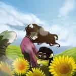 [YCH] Sunflowers by Mayocat