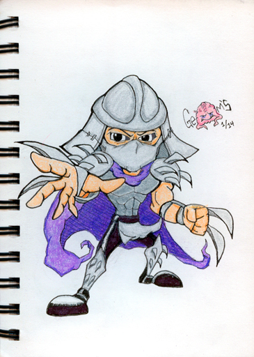 Shredder by v-Germs-v