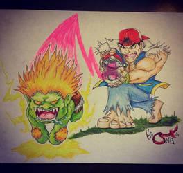Street Fighter X Pokemon