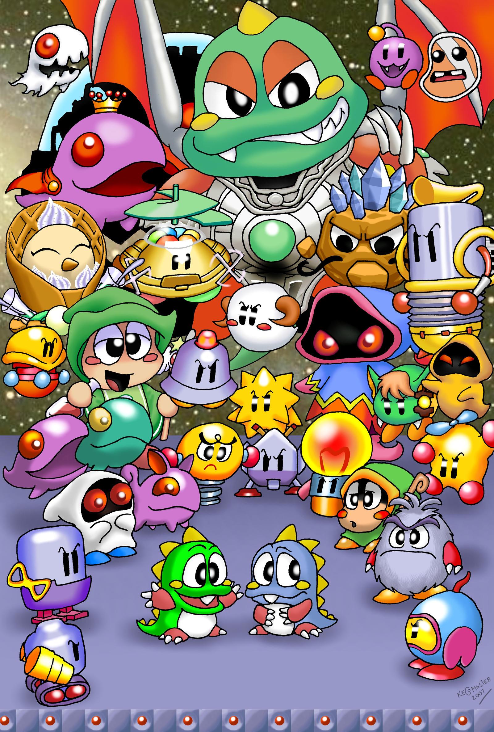 bubble bobble online game