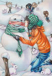 Only the Snowman knows