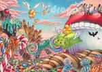 Wubbi's Candy Land