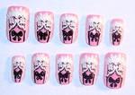 Pink Lolita Nail Design
