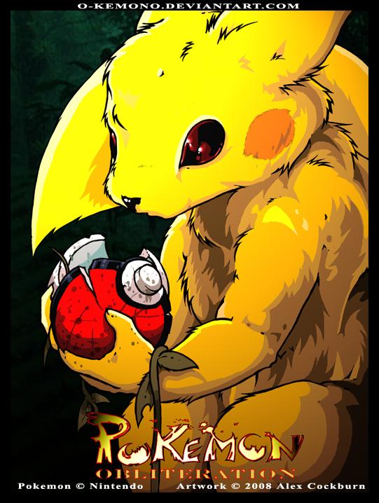 Pokemon Obliteration by o-kemono