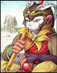 Monkey King by o-kemono