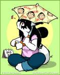Anti Doomsday Mr. Bean Umbrella