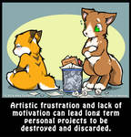 Life's A Chibi: Trashing Projects