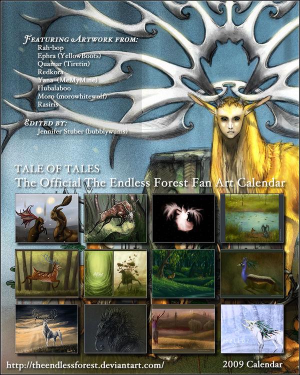 TEF Fan Art Calendar 2009