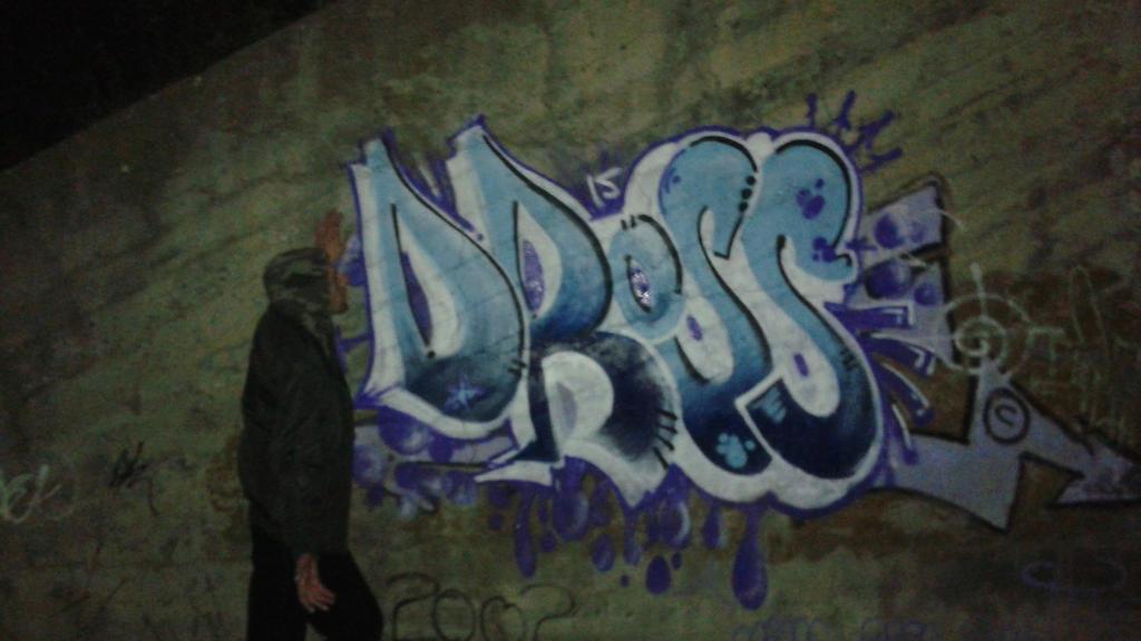 Grafiti de Sergio Cuervo by ElDiariodeDross
