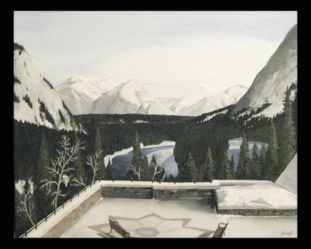 View from the Banff Springs by ExtremeSi