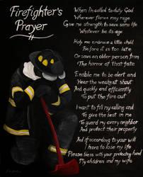 Firefighter's Prayer by ExtremeSi